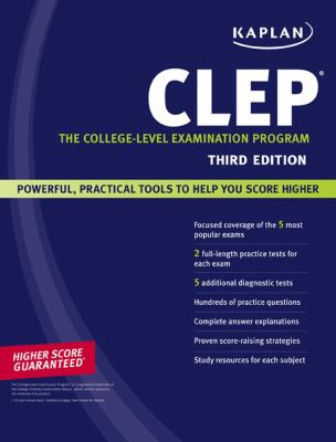 Kaplan CLEP: The College-Level Examination Program 9781419552779