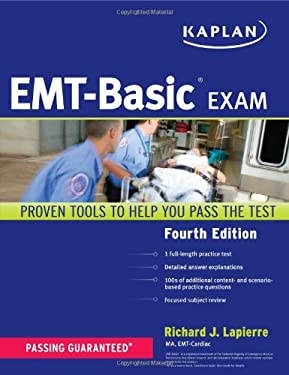 Kaplan EMT-Basic Exam 9781419550225