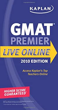Kaplan GMAT 2010 Premier Live Online 9781419552953