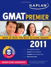 Kaplan GMAT Premier [With CDROM] 6315855