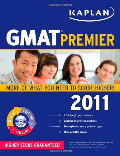 Kaplan GMAT Premier [With CDROM] 9781419549892