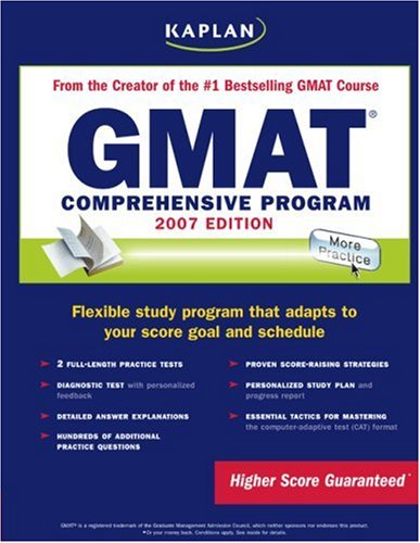 Kaplan GMAT: Comprehensive Program 9781419541827