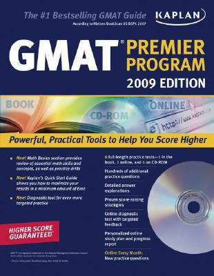 Kaplan GMAT: Premier Program [With CDROM] 9781419552045
