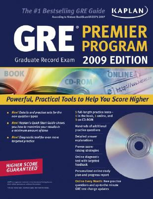 Kaplan GRE Exam Premier Program [With CDROM] 9781419552069