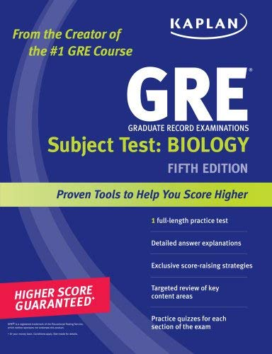 Kaplan GRE Subject Test: Biology 9781419550003