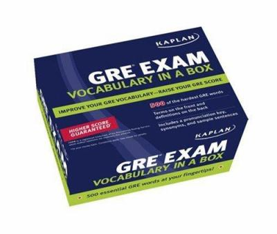 Kaplan GRE Exam Vocabulary in a Box 9781419552205