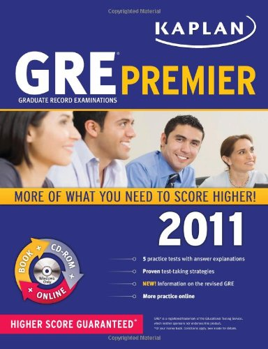 Kaplan GRE Premier: Graduate Record Examinations [With CDROM] 9781419549915