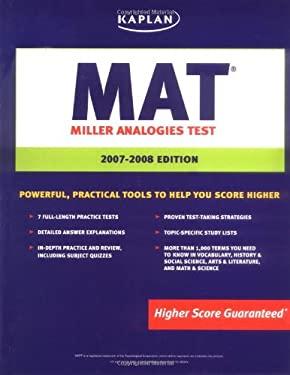 Kaplan MAT: Miller Analogies Test 9781419551437