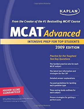 Kaplan MCAT Advanced: Advanced Prep for Advanced Students 9781419552304