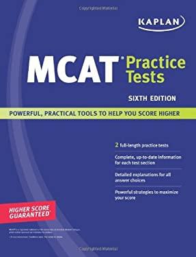Kaplan MCAT Practice Tests 9781419551956