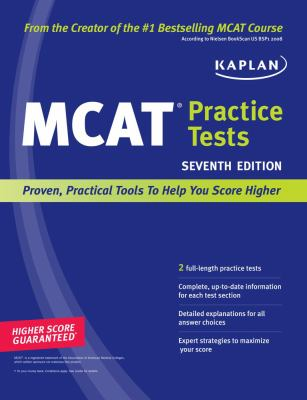 Kaplan MCAT Practice Tests 9781419553578
