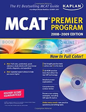 Kaplan MCAT Premier Program [With CDROM] 9781419551901