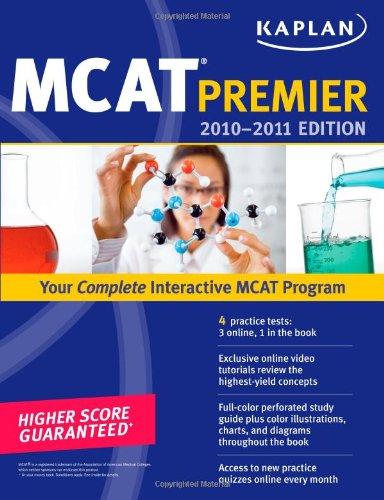 Kaplan MCAT Premier 9781419553547