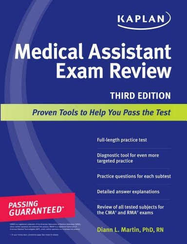 Kaplan Medical Assistant Exam Review 9781419553417