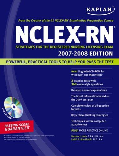 Kaplan NCLEX-RN: Strategies for the Registered Nursing Licensing Exam [With CDROM] 9781419550980