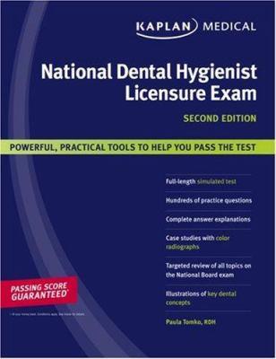 Kaplan National Dental Hygienist Licensure Exam 9781419551086