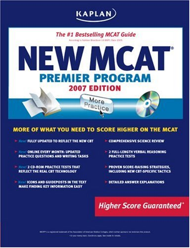 Kaplan New MCAT Premier Program [With CDROM] 9781419551093