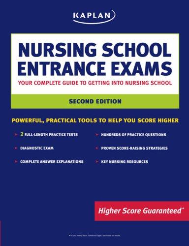 Kaplan Nursing School Entrance Exams 9781419551253