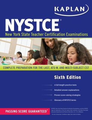 Kaplan Nystce: Complete Preparation for the Last, Ats-W, and Multi-Subject Cst 9781419550720