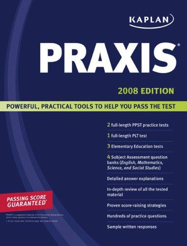 Kaplan Praxis 9781419550904