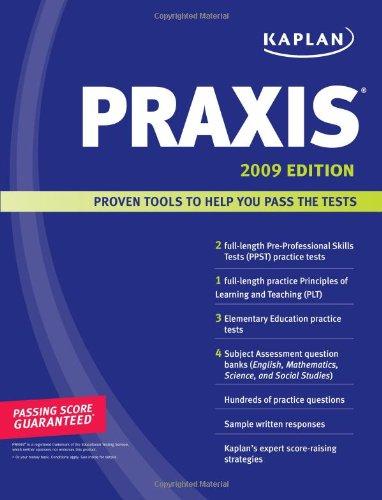 Kaplan Praxis 9781419551772