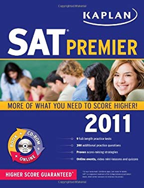 Kaplan SAT Premier [With CDROM] 9781419549960