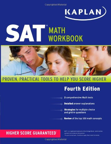 Kaplan SAT Math Workbook 9781419549977