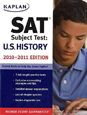 Kaplan SAT Subject Test: U.S. History 9781419552663