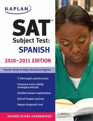 Kaplan SAT Subject Test: Spanish 9781419553516
