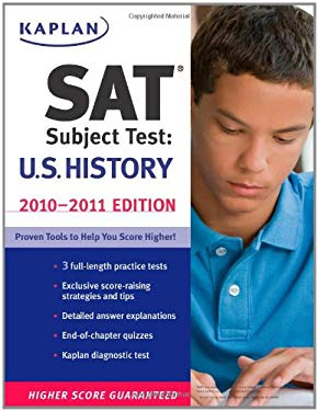 Kaplan SAT Subject Test: U.S. History 9781419553523