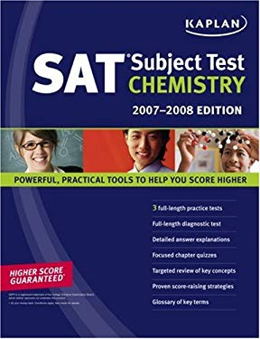 Kaplan SAT Subject Test: Chemistry 9781419551017