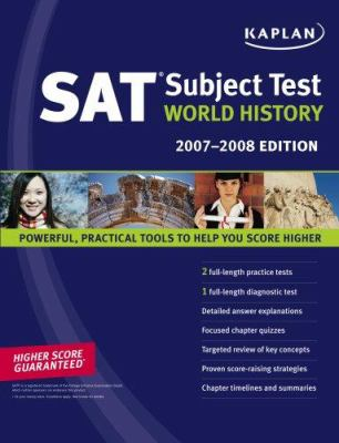 Kaplan SAT Subject Test: World History 9781419551079