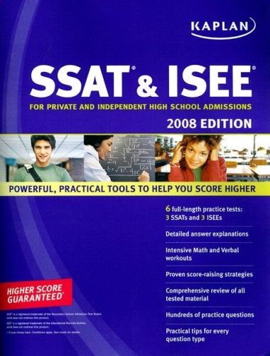 Kaplan SSAT & ISEE: For Private and Independent High School Admissions 9781419551451