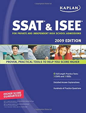 Kaplan SSAT & ISEE: For Private and Independent High School Admissions 9781419552243