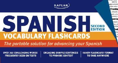 Kaplan Spanish Vocabulary Flashcards 9781419542077