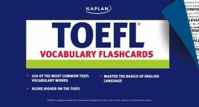 Kaplan TOEFL Vocabulary Flashcards 9781419542053