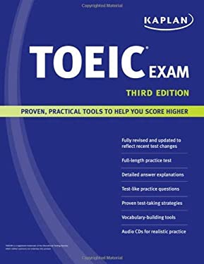 Kaplan Toeic Exam 9781419551987