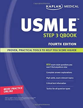Kaplan USMLE Step 3 Qbook 9781419553189