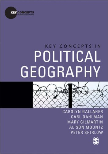 Key Concepts in Political Geography 9781412946728