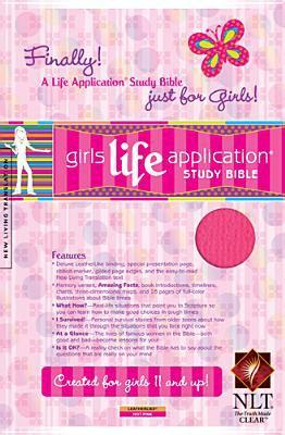 Kid's Life Application Bible for Girls-Nlt 9781414302669