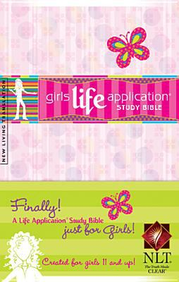 Kid's Life Application Bible for Girls-Nlt 9781414306452