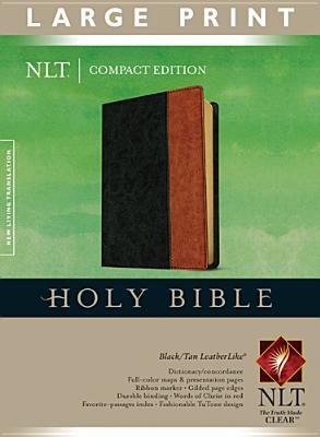 Large Print Compact Bible-NLT 9781414312576