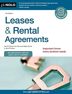 Leases & Rental Agreements [With CDROM] 9781413316193