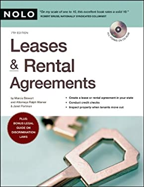 Leases & Rental Agreements [With CDROM] 9781413306927