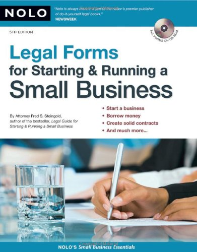 Legal Forms for Starting & Running a Small Business [With CDROM] 9781413307542