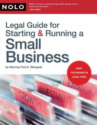 Legal Guide for Starting & Running a Small Business 9781413308532