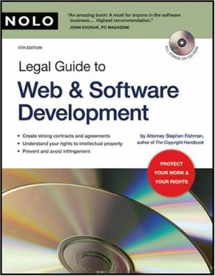 Legal Guide to Web & Software Development [With CDROM] 9781413305326