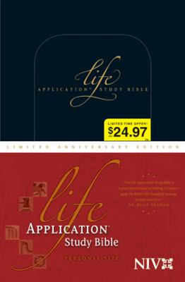 Life Application Study Bible-NIV-Personal Size Limited Anniversary 9781414333991
