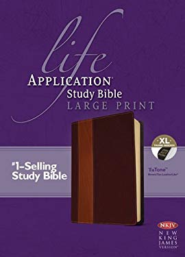 Life Application Study Bible-NKJV-Large Print 9781414378978
