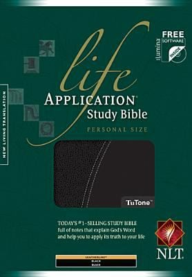 Life Application Study Bible-NLT-Personal Size [With CDROM] 9781414321585